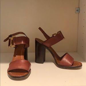 Chloe Leather Heel
